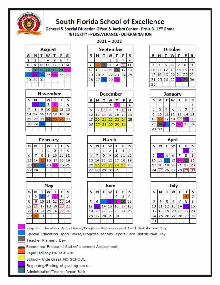 2021-2022-SFSE-School-Calendar
